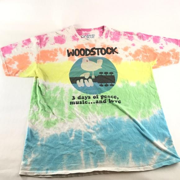 e2a96edd746 Liquid Blue Other - Liquid Blue Woodstock Tie Dye T-Shirt